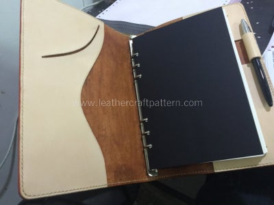 Install Loose Leaf Binder, Add Refill Pages On.