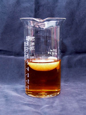 Crystallization of homemade sodium acetate
