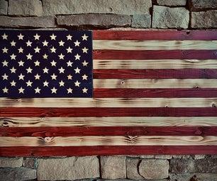 仿古美国国旗