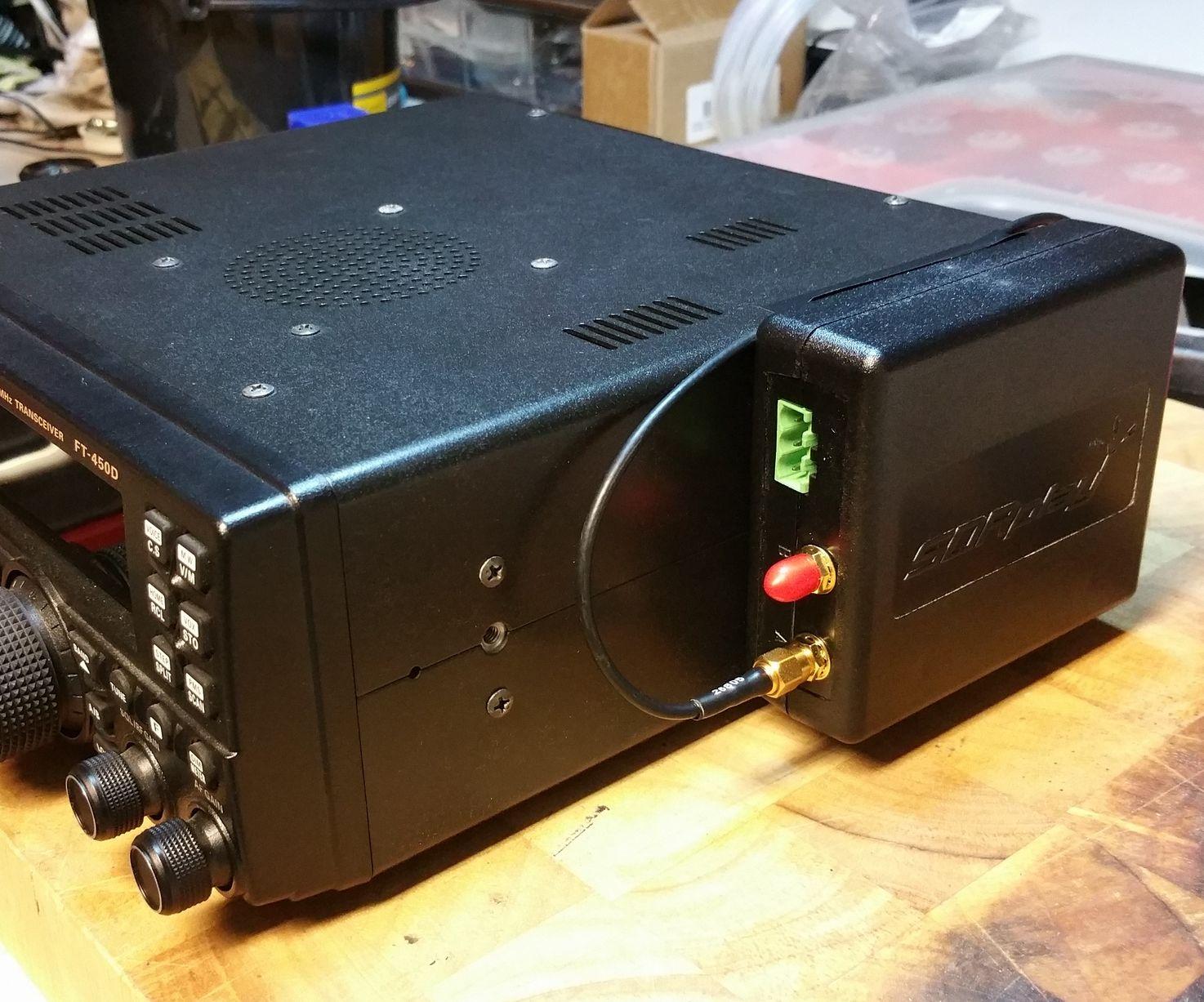 Yaesu FT-450D RF Tap Modification for SDR