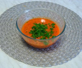 Cooking Without Fire: Gaspacho Soup