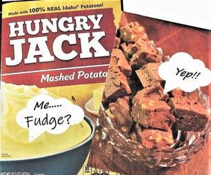 Mashed Potato Fudge