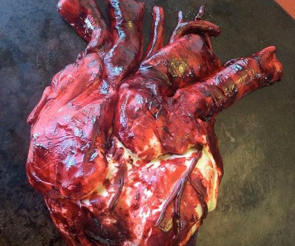 Cake Decorating With Fondant: Heart-Shaped Cake