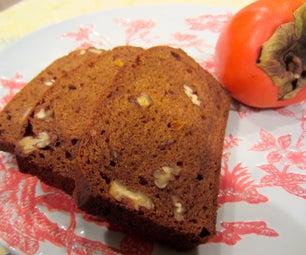 Persimmon Nut Bread