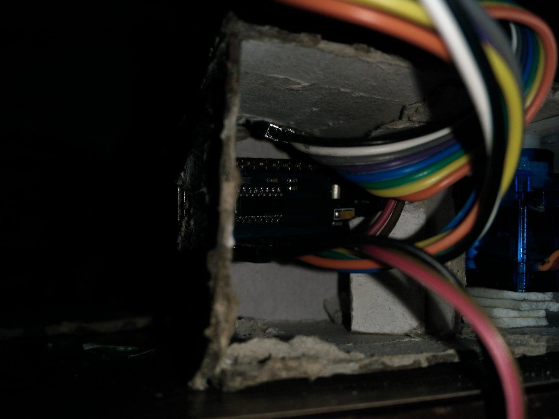 Set Up Locking Mechanism Inside Compartment