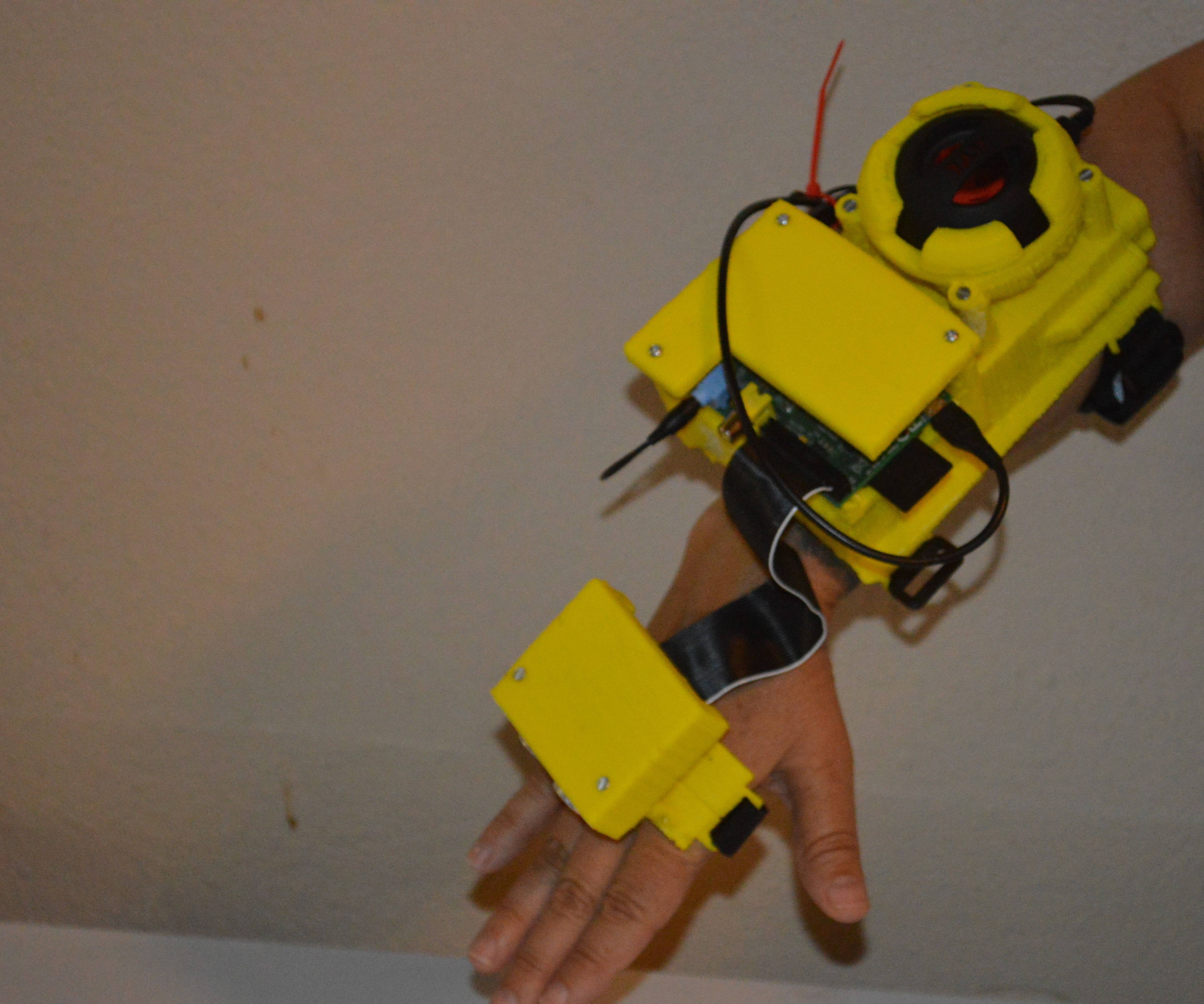 Ultrasonic sonar for the blind and visually impaired