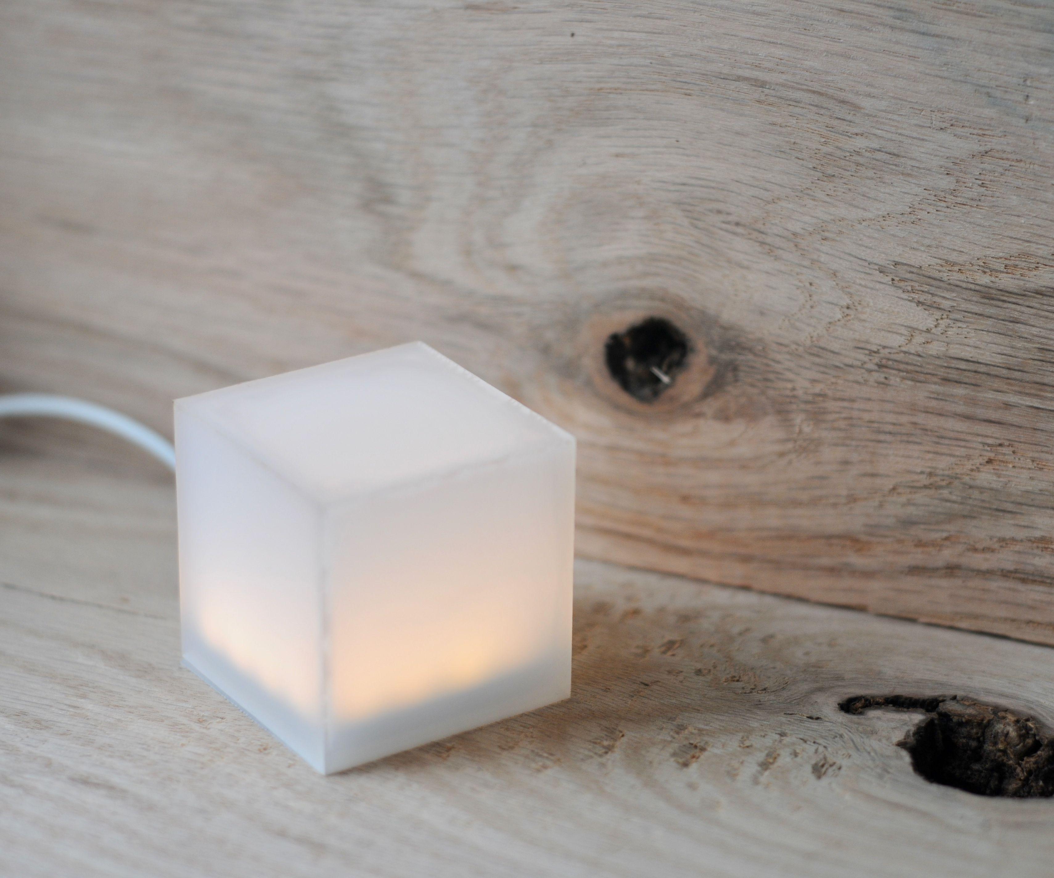 LED Cube Lamp