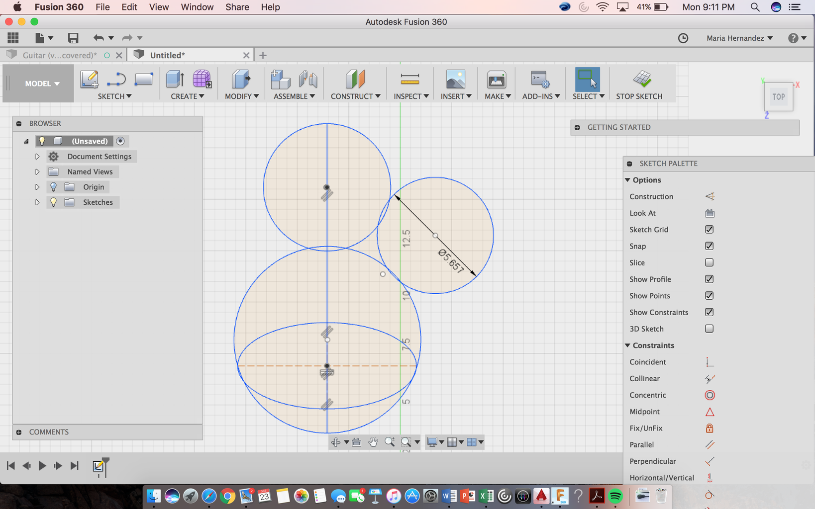 Design Your Object in Fusion 360