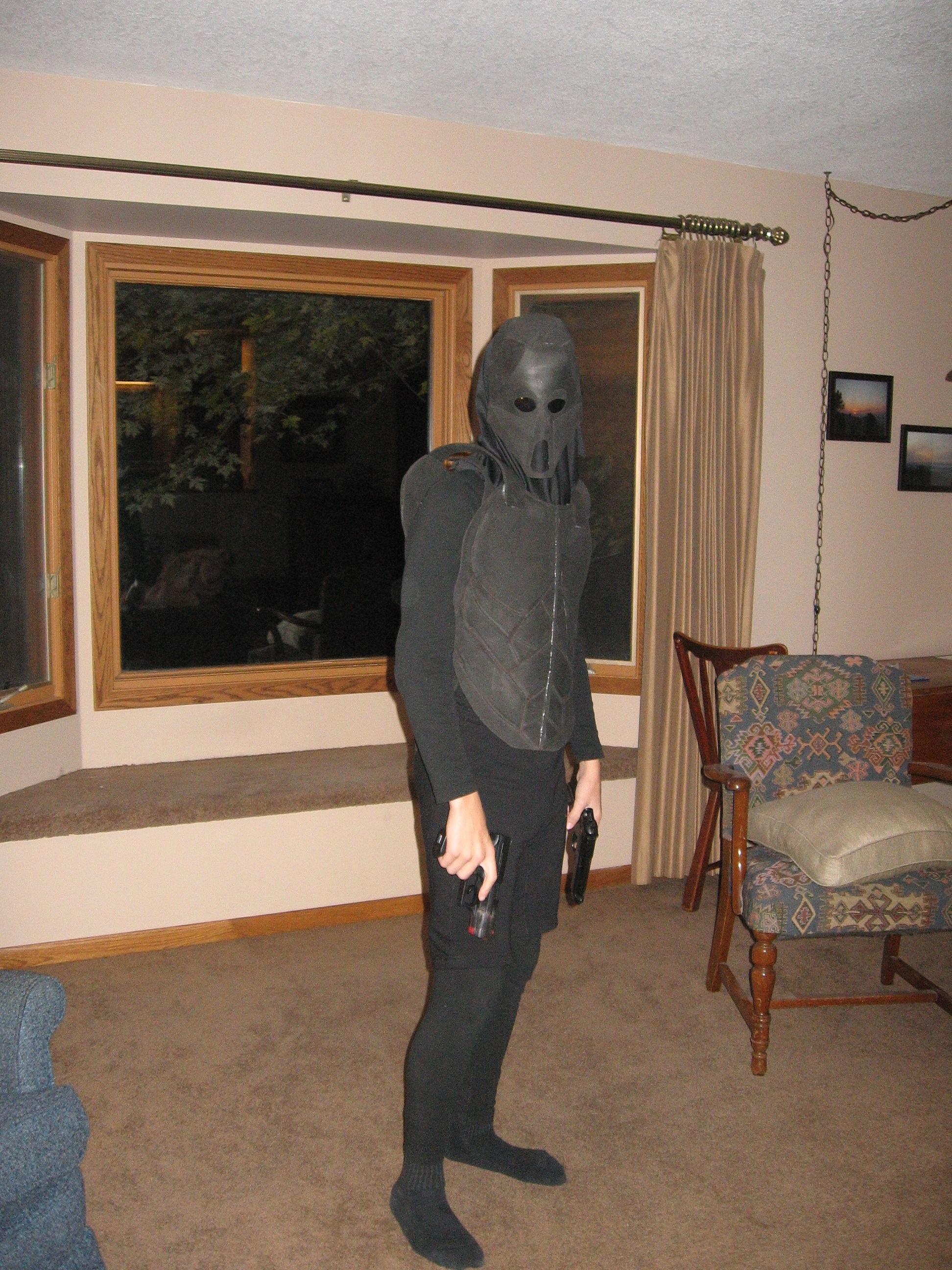 Body armor from craft foam