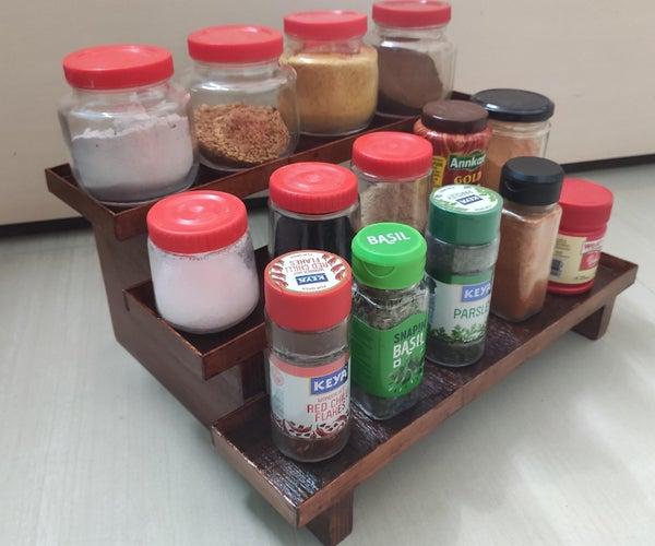 Kitchen Organizer for Spices
