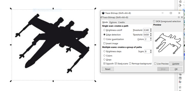 Prepare a .dxf File to Cut Into the Main Flange