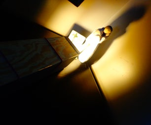 """""""Let There Be Light"""" : Hand-made Shadow-box/Projector"""