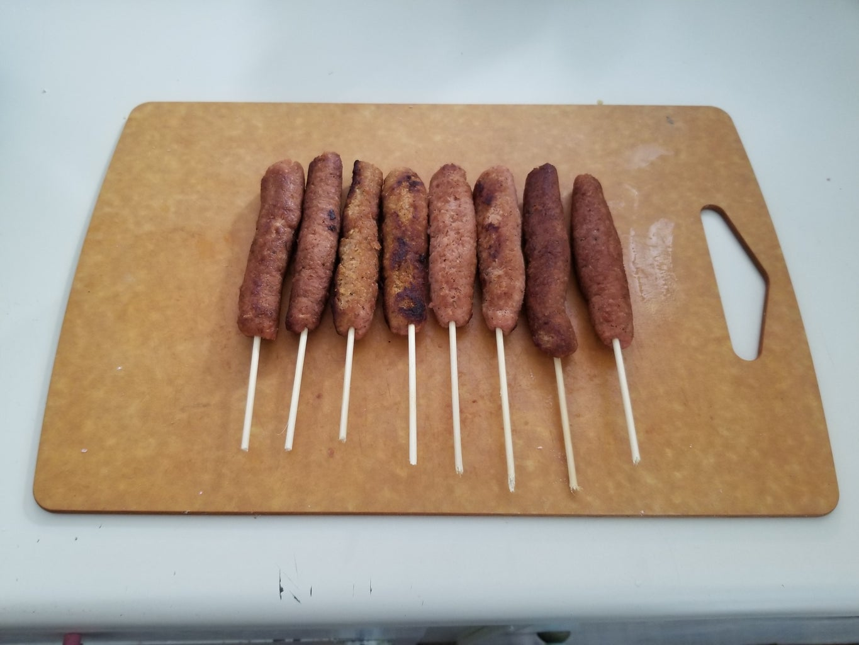 Prep and Cook Vegan Sausage