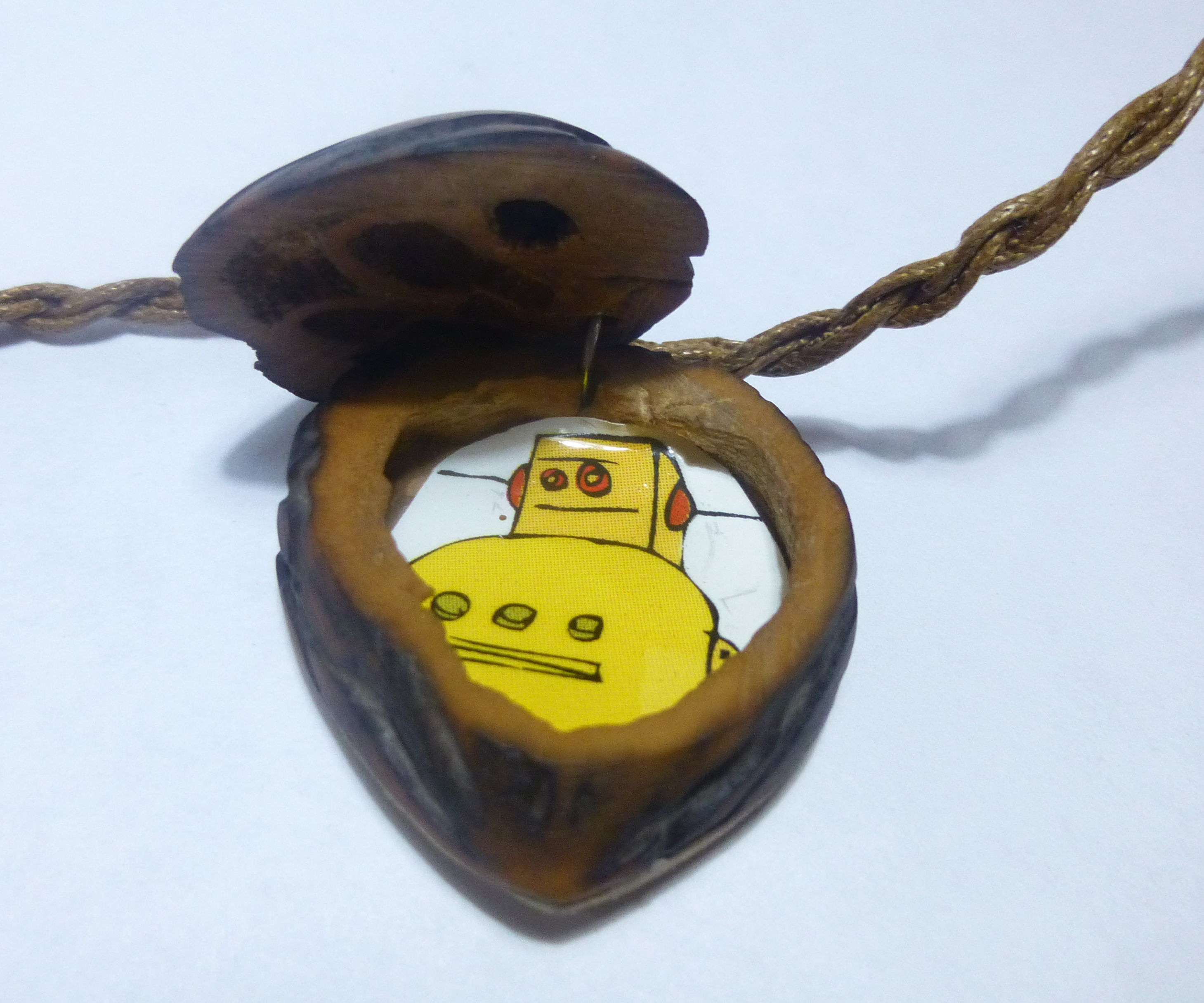 Walnut Locket.