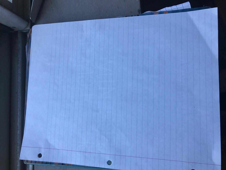 Get a Sheet of Paper