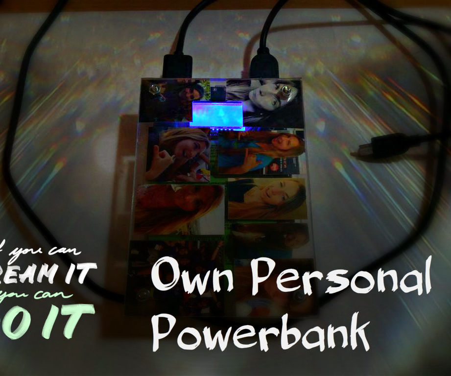 Make Your Own Custom Powerbank Gift!