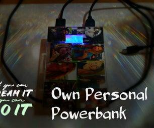 Make Your Own Custom Powerbank Gift!