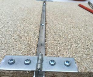 DIY Low Cost Hot Wire Plastic Sheet Bending Tool