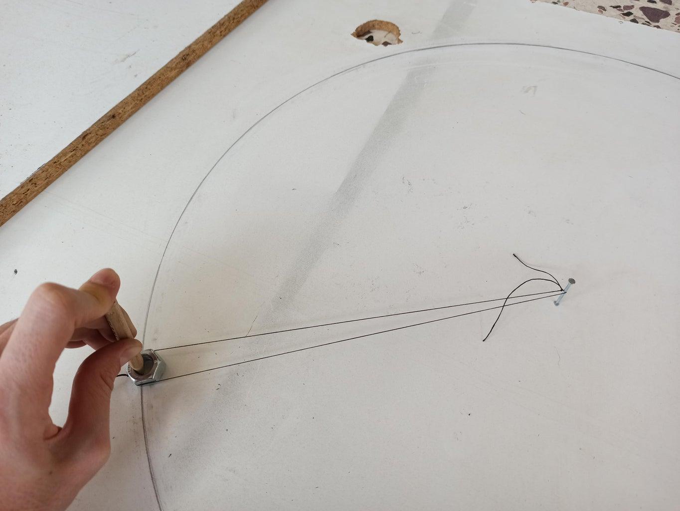 Drawing the Circles (Platform and Base)