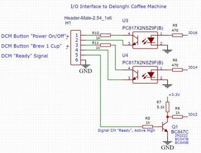 Schematic of the ESP8266 Module