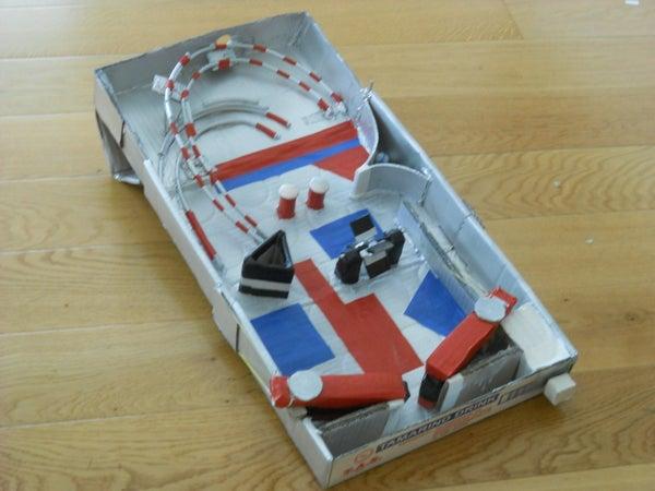 Cardboard Pinball Machine