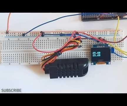 DHT21 Digital Temperature and Humidity Sensor With Arduino