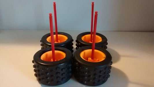 Wheel Ball Containers
