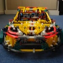 K'nex rally car (rockstar energy fiesta)