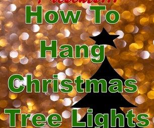 The Art of Lighting a Christmas Tree: Vertical Vs. Horizontal