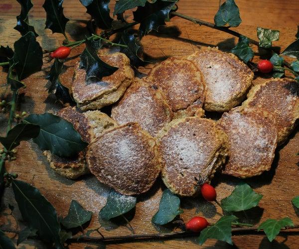 香料苏格兰煎饼-无麸质配方