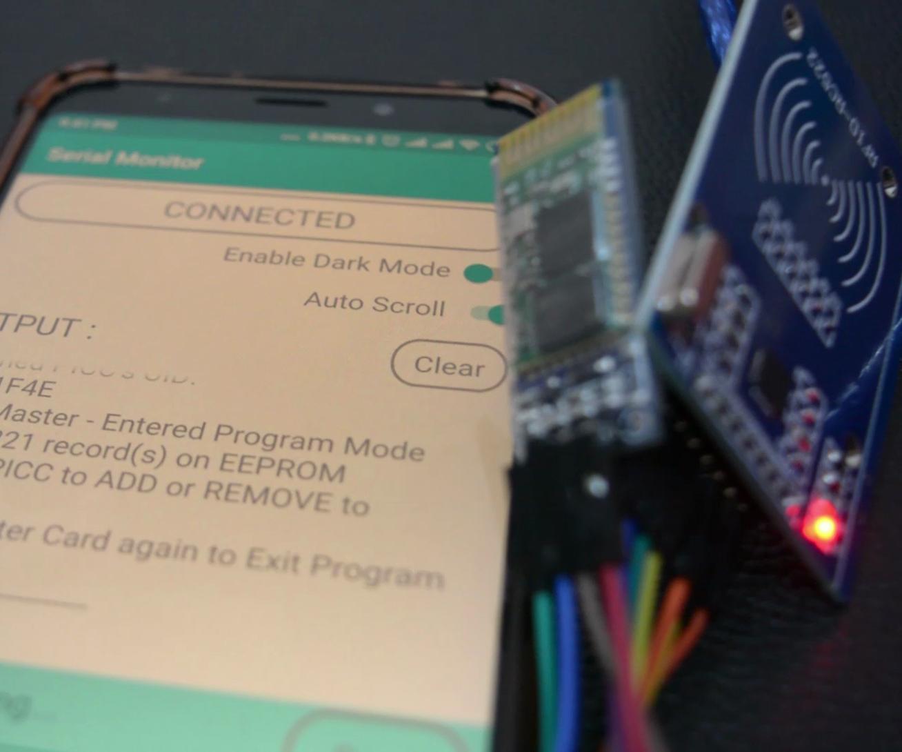 RFID +Arduino + Android