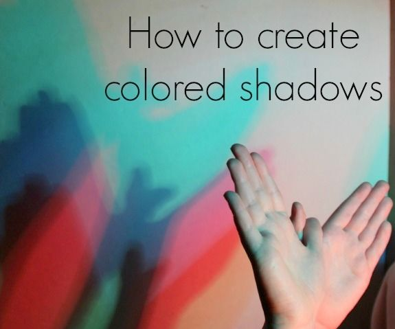 How to Create Colored Shadows