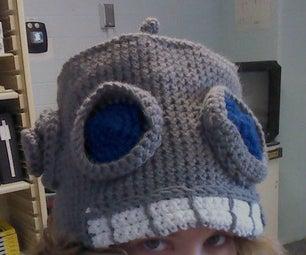 Crochet Robot Hat