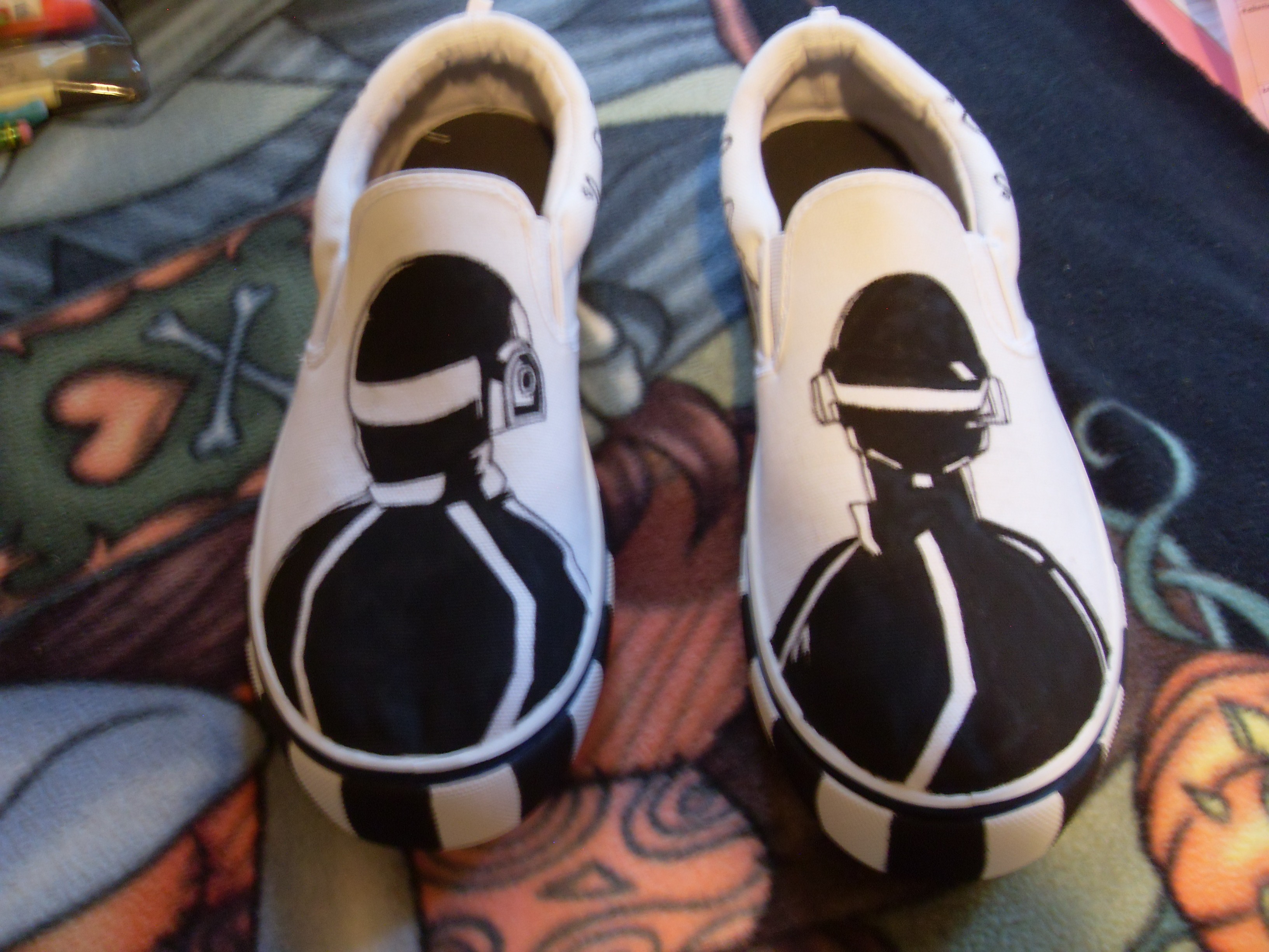 Daft Punk Shoes!