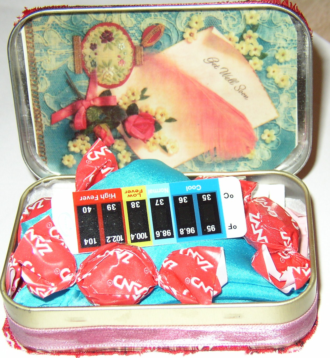 In Your Pocket Altoids Tin Get Well Care Package