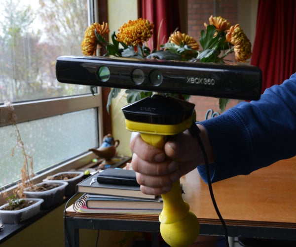 How to Assemble the Kinect Grip of CatweazleMagic