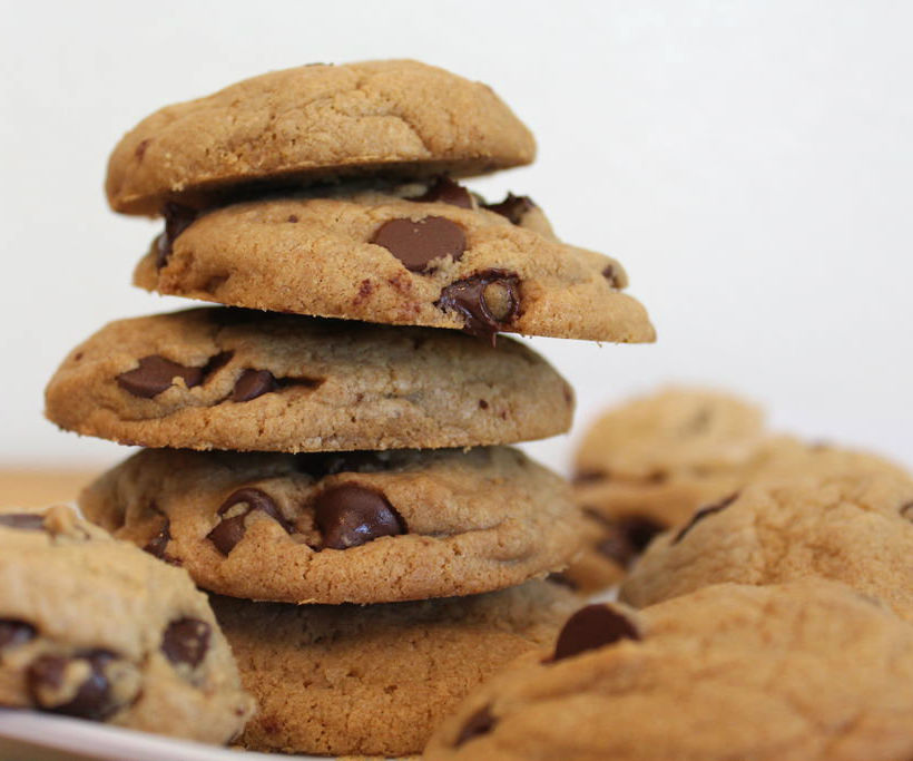 Healthier Chewy Chocolate Chip Cookies