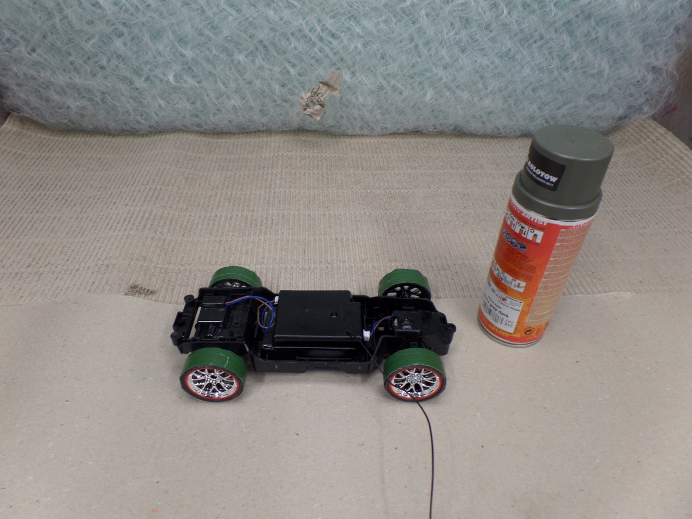 Modify the Chassis