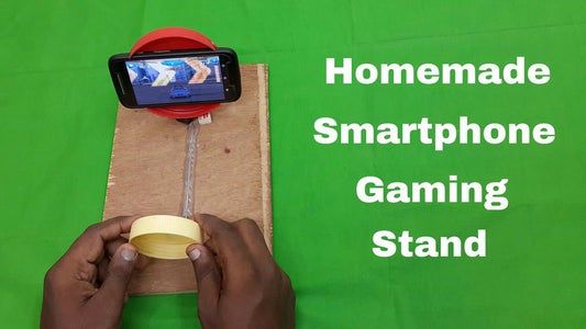 Make Your Own Smartphone Gaming Stand in Just 5 Minutes