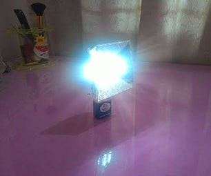 Super Bright LED Flash Light With Reflector