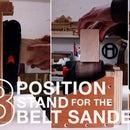 Make a Simple Belt Sander Stand