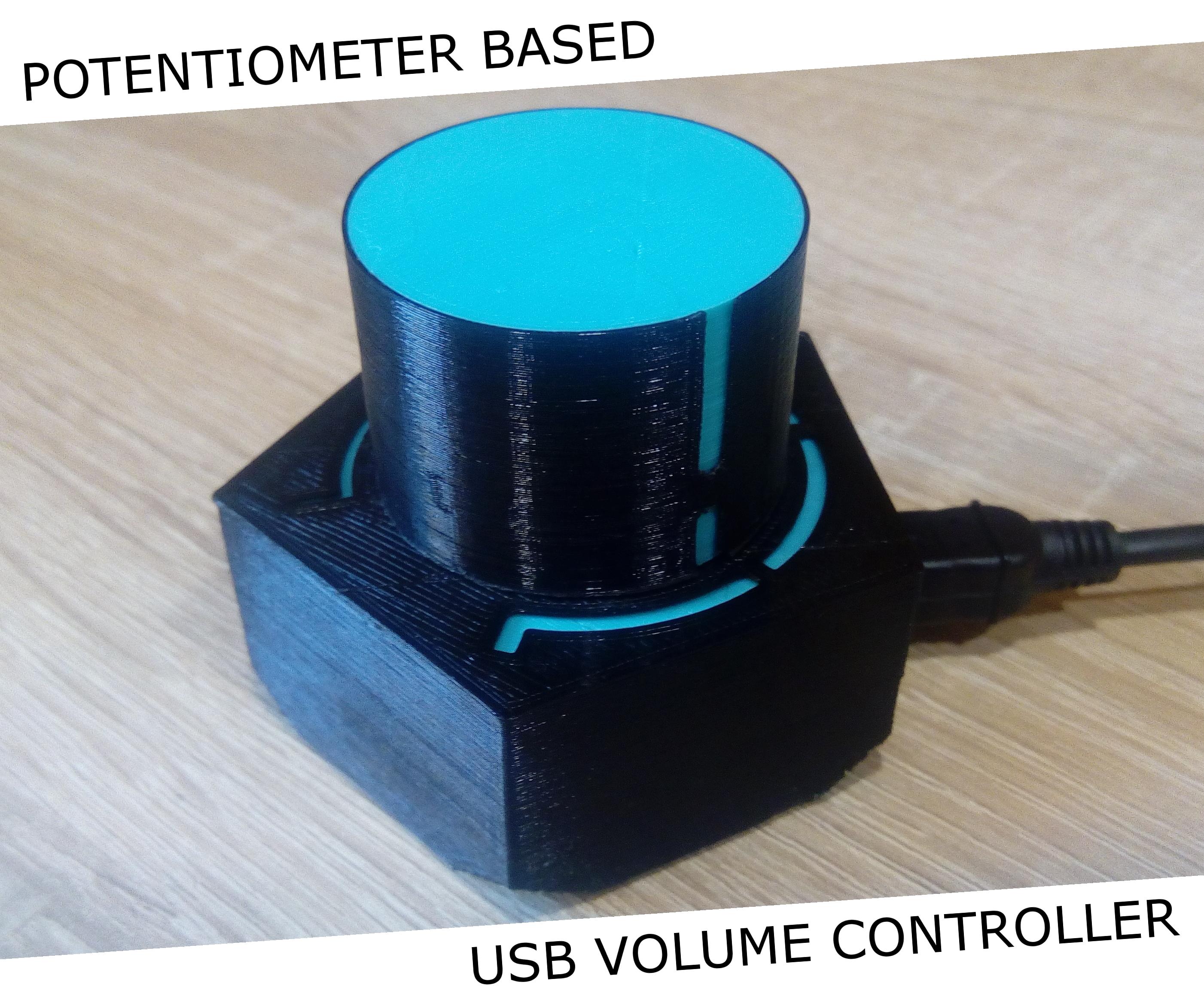 USB Volume Controller - Potentiometer Based