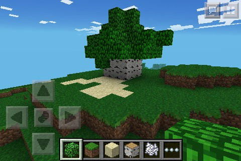 how to make an underground secret base in MCPE