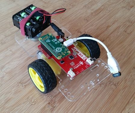 Raspberry Pi Zero Robot