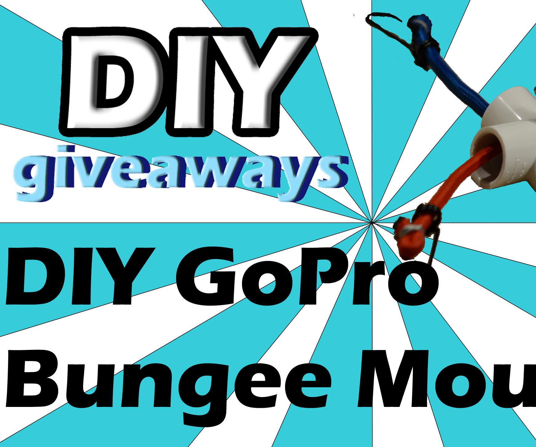 DIY GoPro Bungee Mount