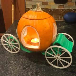 How to Make an Enchanted Pumpkin Carriage