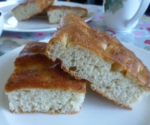 Easy No Knead Focaccia - Italian Flat Bread