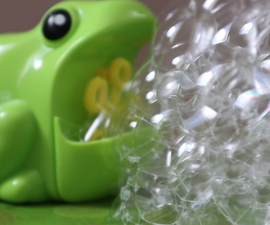 The Internet Controlled Bubble Machine