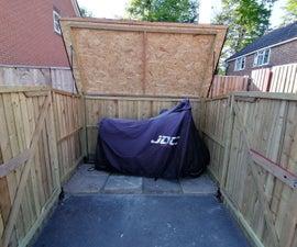 DIY自行车棚