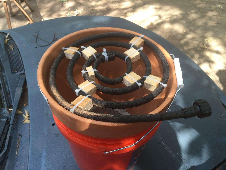 Make a Soaker Hose Coil
